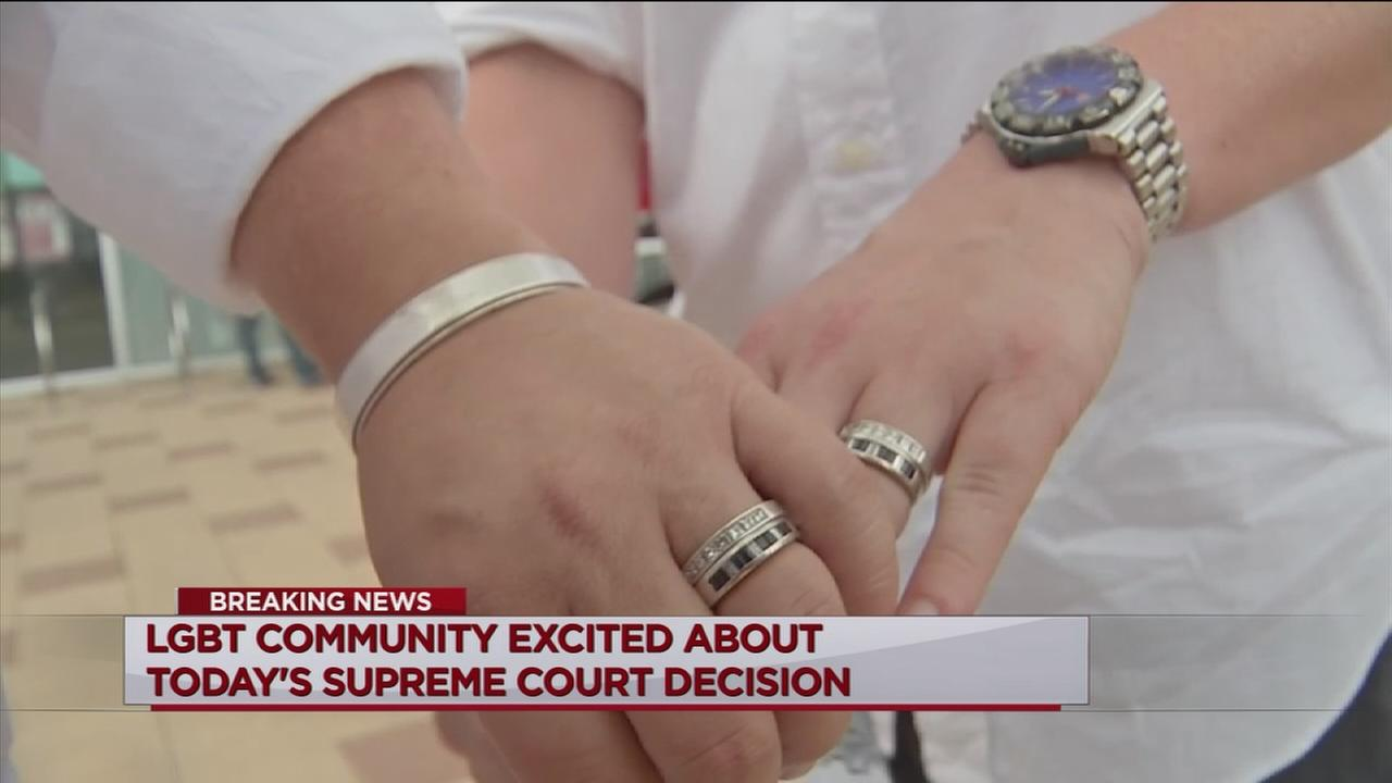 Houstonians react to SCOTUS ruling on gay marriage