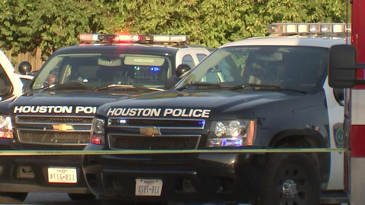 Houston Police vehicles