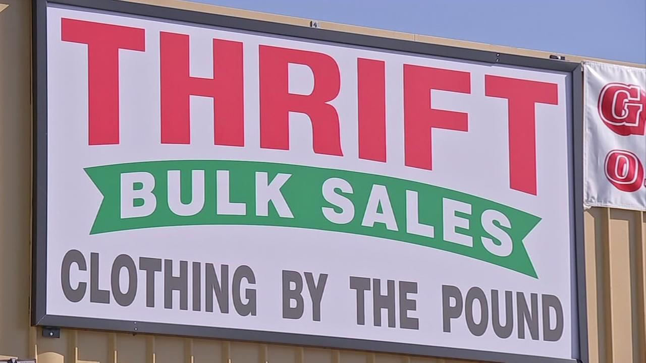 A Thrifty way to get clothes by the pound for cheap