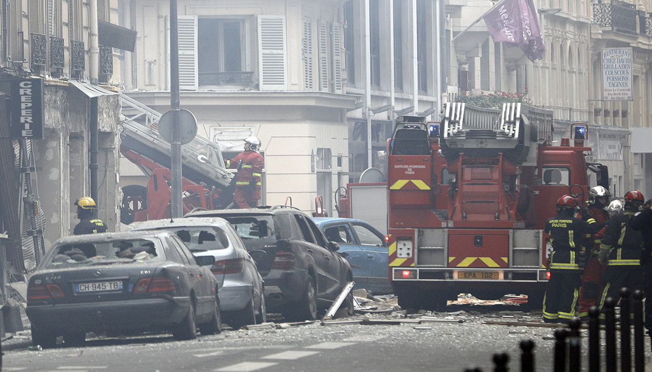 Paris shooting has left four killed
