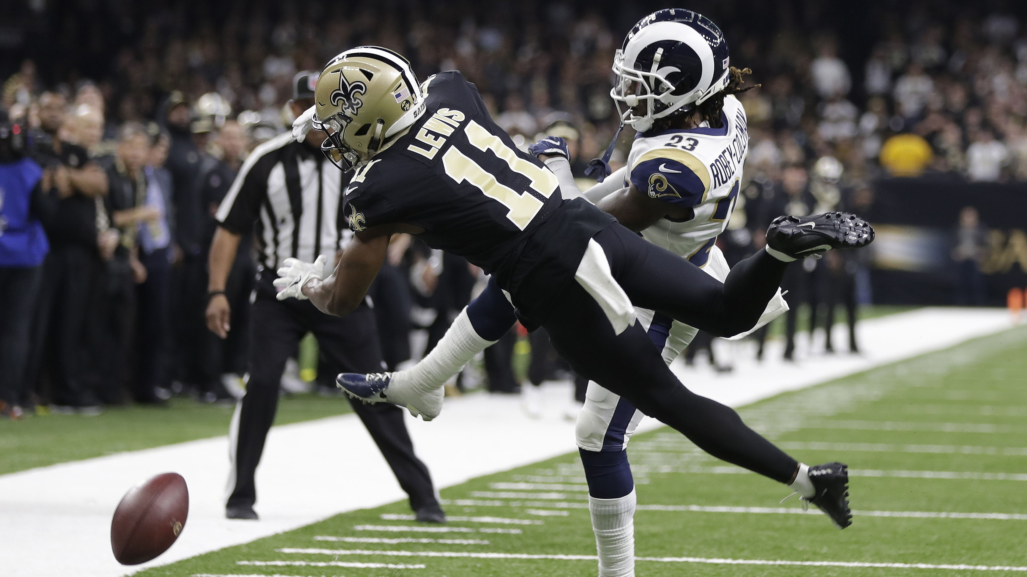 Sportsbook credits New Orleans Saints bets over uncalled penalty in NFC championship game
