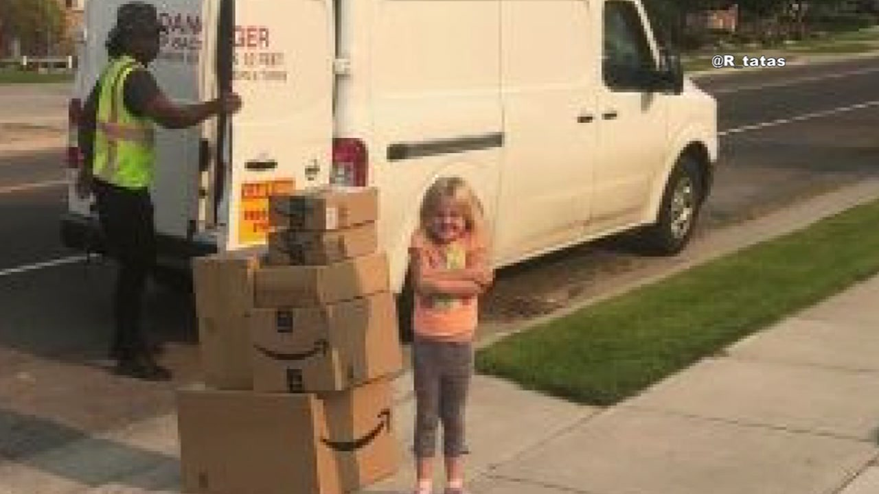 Girl buys hundreds of dollars of toys from Amazon without her parents knowing