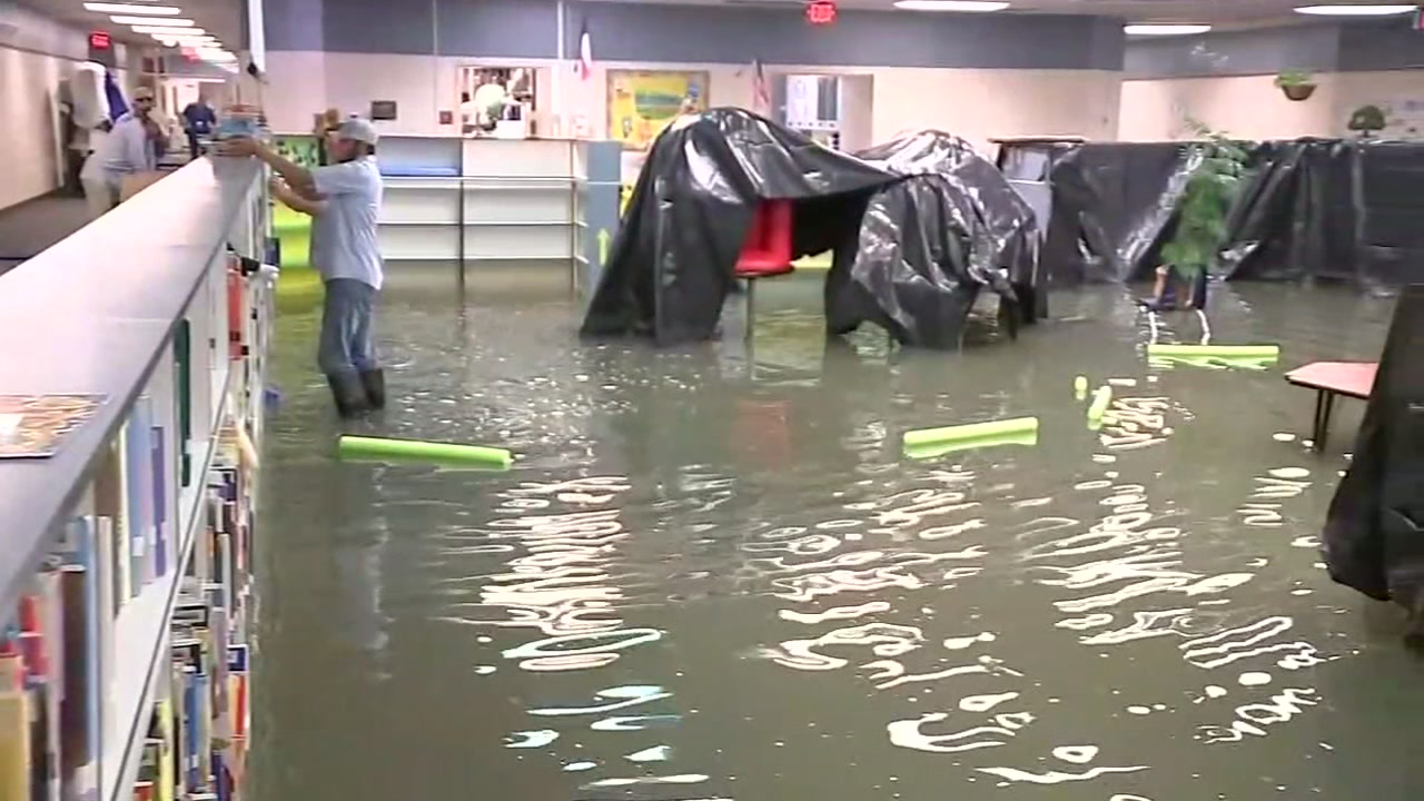 After being slammed during Hurricane Harvey, Lemm Elementary is reopening to students.