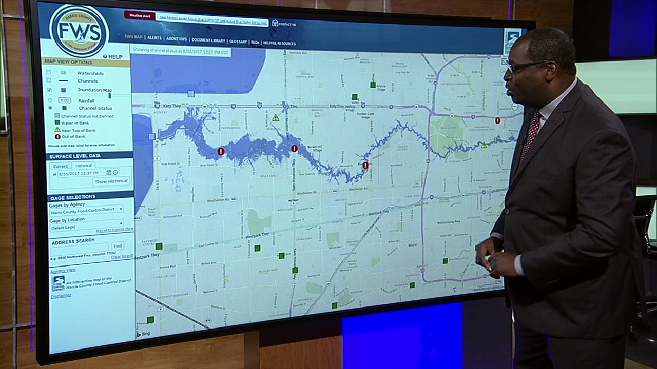 Flood resource maps out historic trouble spots around Houston