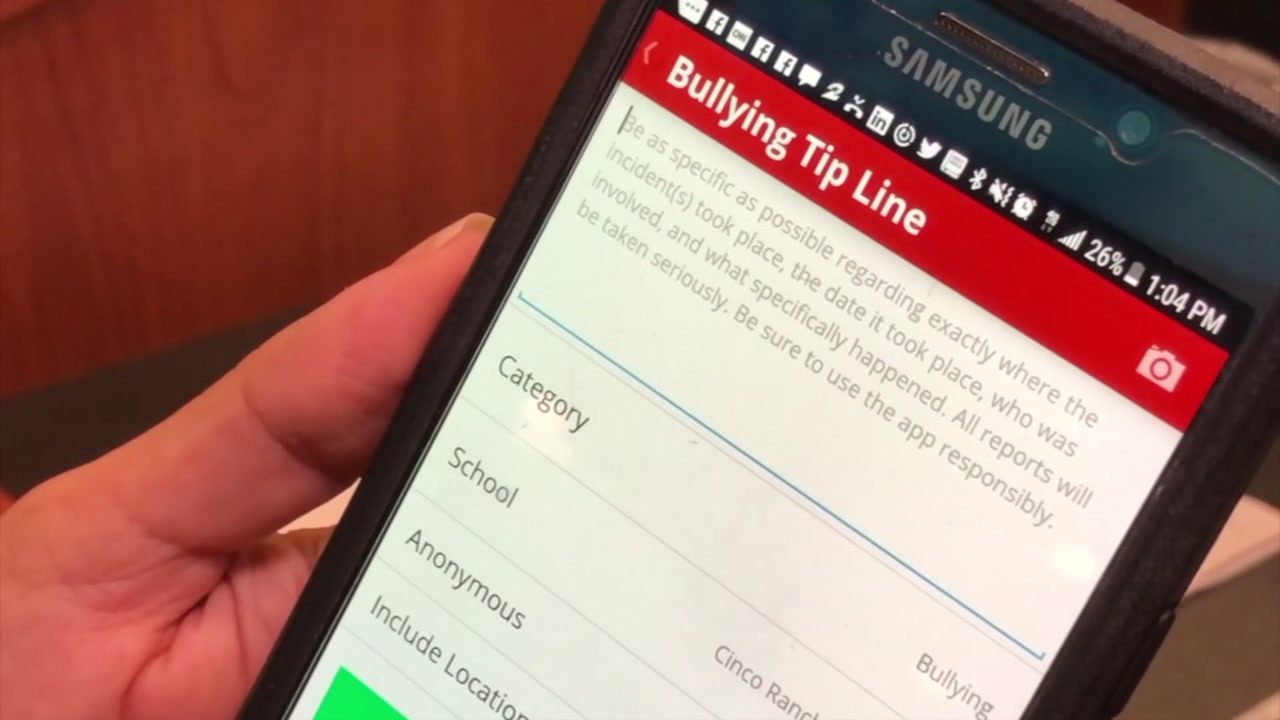 Katy ISD releases new app with bullying tip line.