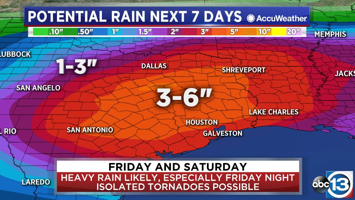 Houston Weather: Flash Flood Watch Friday and Saturday | abc13.com