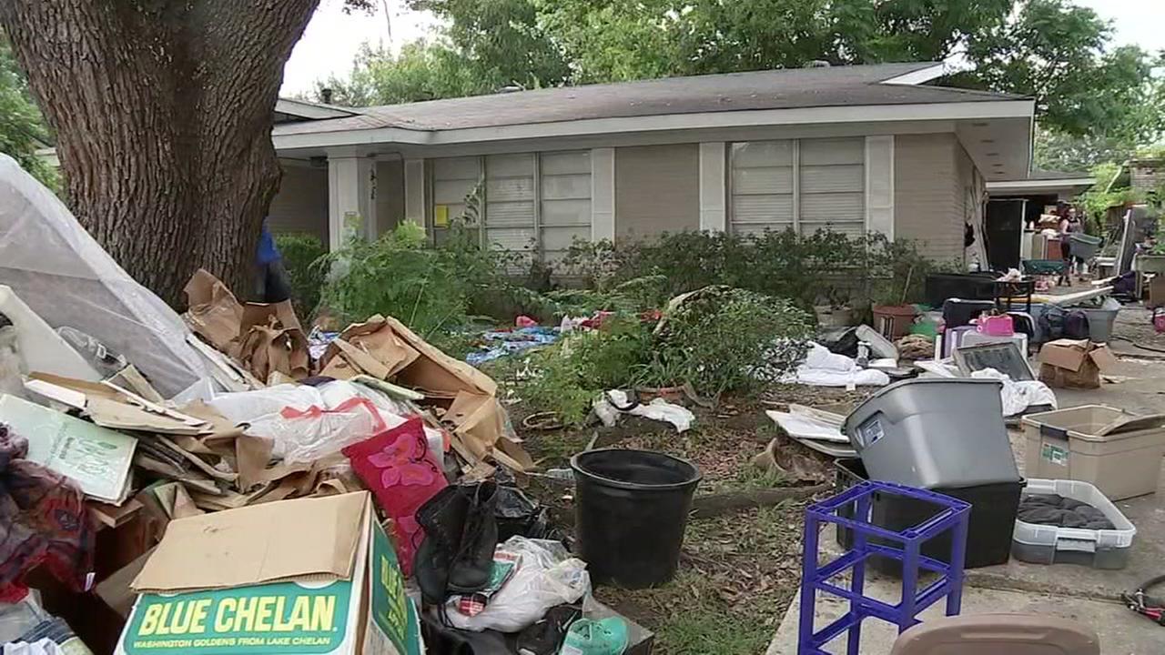 Meyerland flooded neighborhoods