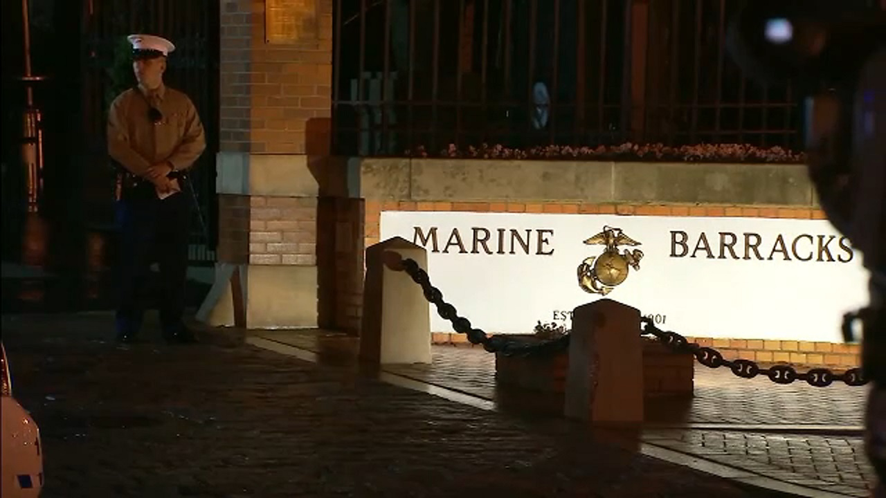 Investigation underway after on-duty marine shot on New Year's Day