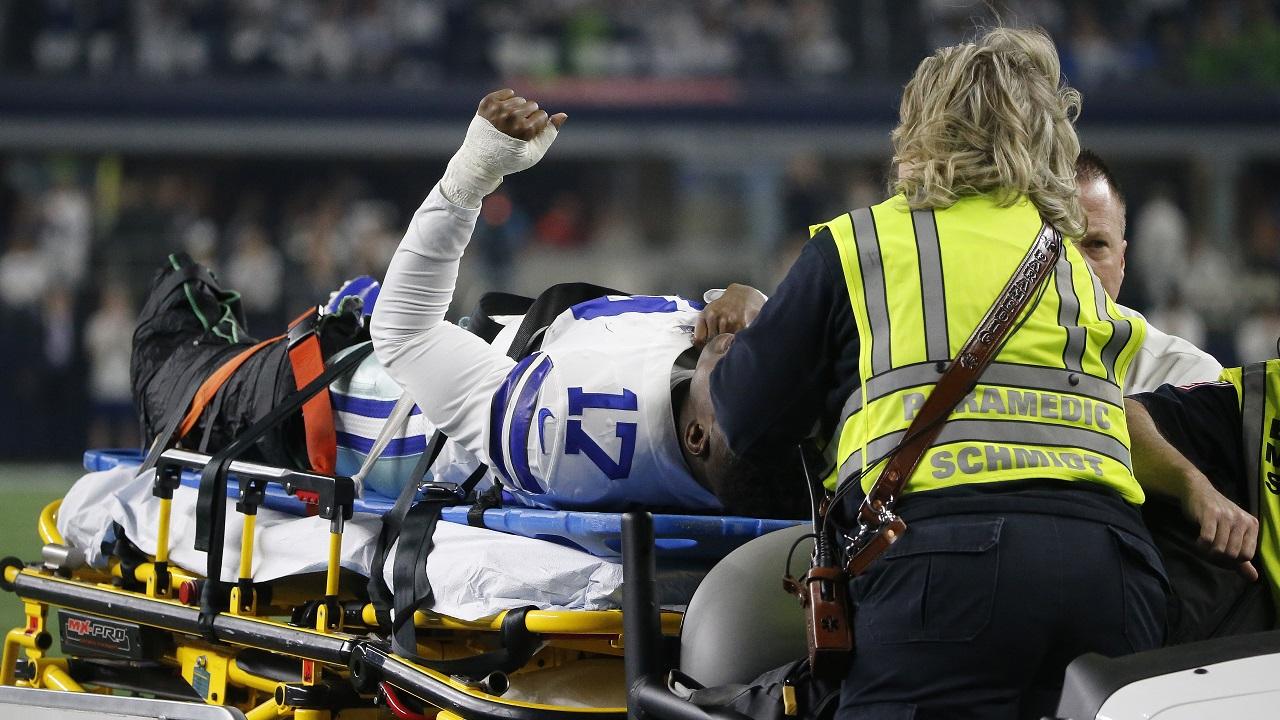 Cowboys' Allen Hurns sustains severe lower leg injury