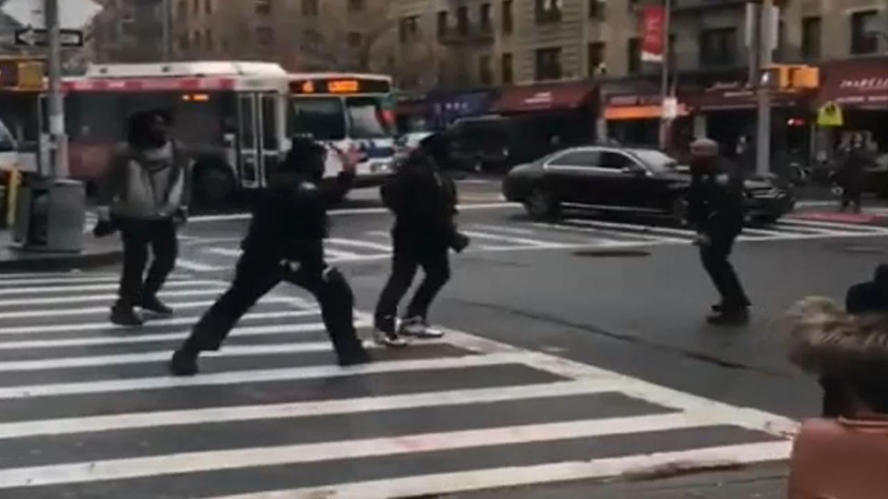 nypd confrontation