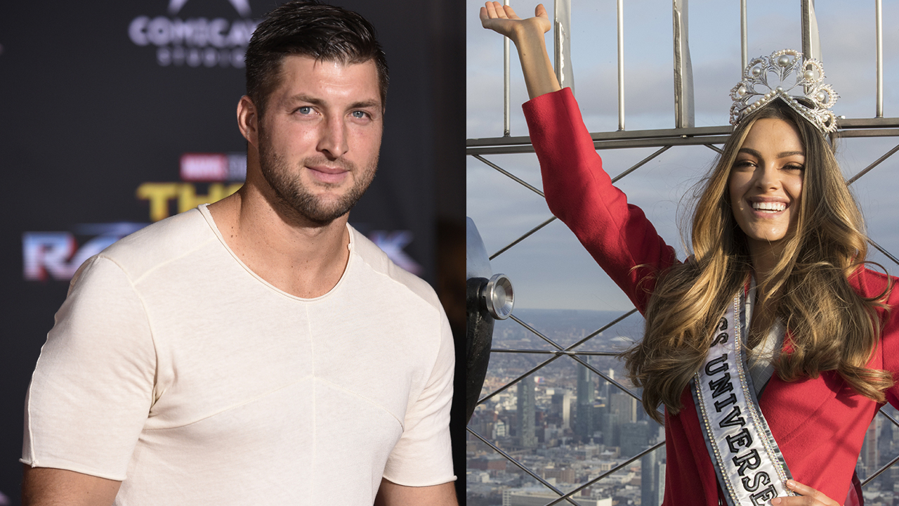 Tim Tebow announces his engagement to former Miss Universe