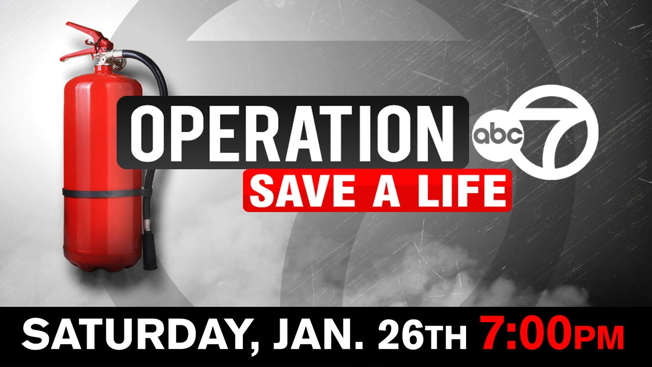 Watch our half hour special 'Operation 7: Save a Life' - Saturday, January 26th at 7pm