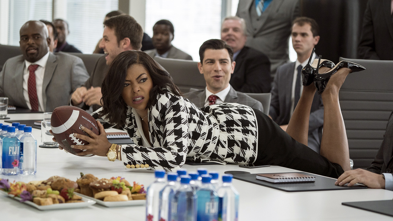 This image released by Paramount Pictures shows Taraji P. Henson in a scene from What Men Want.