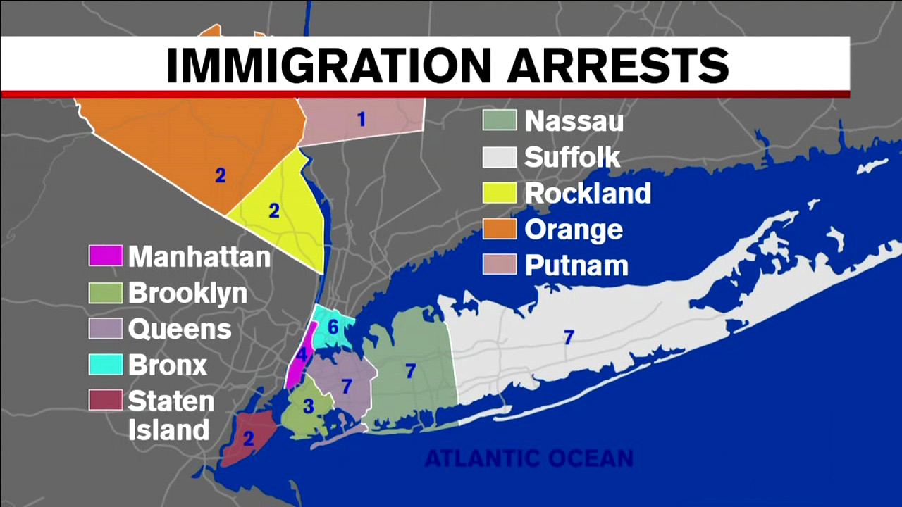 Details of 41 arrested during ICE illegal immigrant roundup