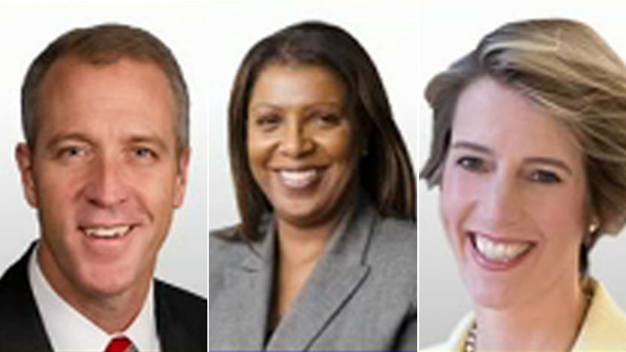 Sean Patrick Maloney, Letitia James and Zephyr Teachout