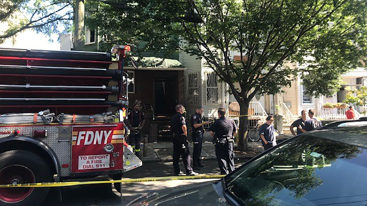 House fire in Brooklyn leaves 2 injured, 1 critically