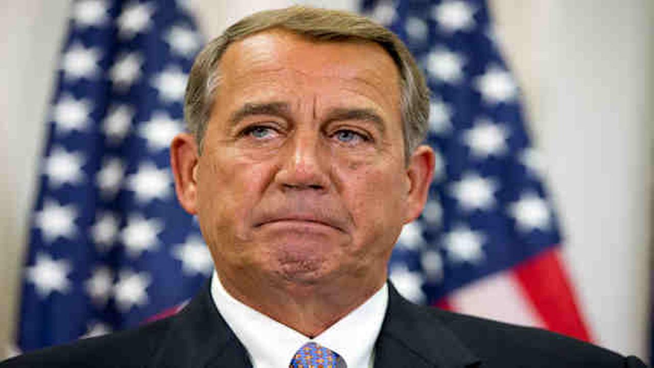 Speaker John Boehner stuns Congress, announces resignation
