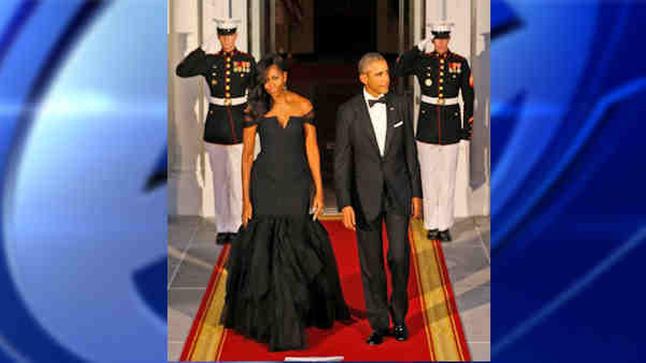 Lots of buzz about dresses, Hollywood at China state dinner