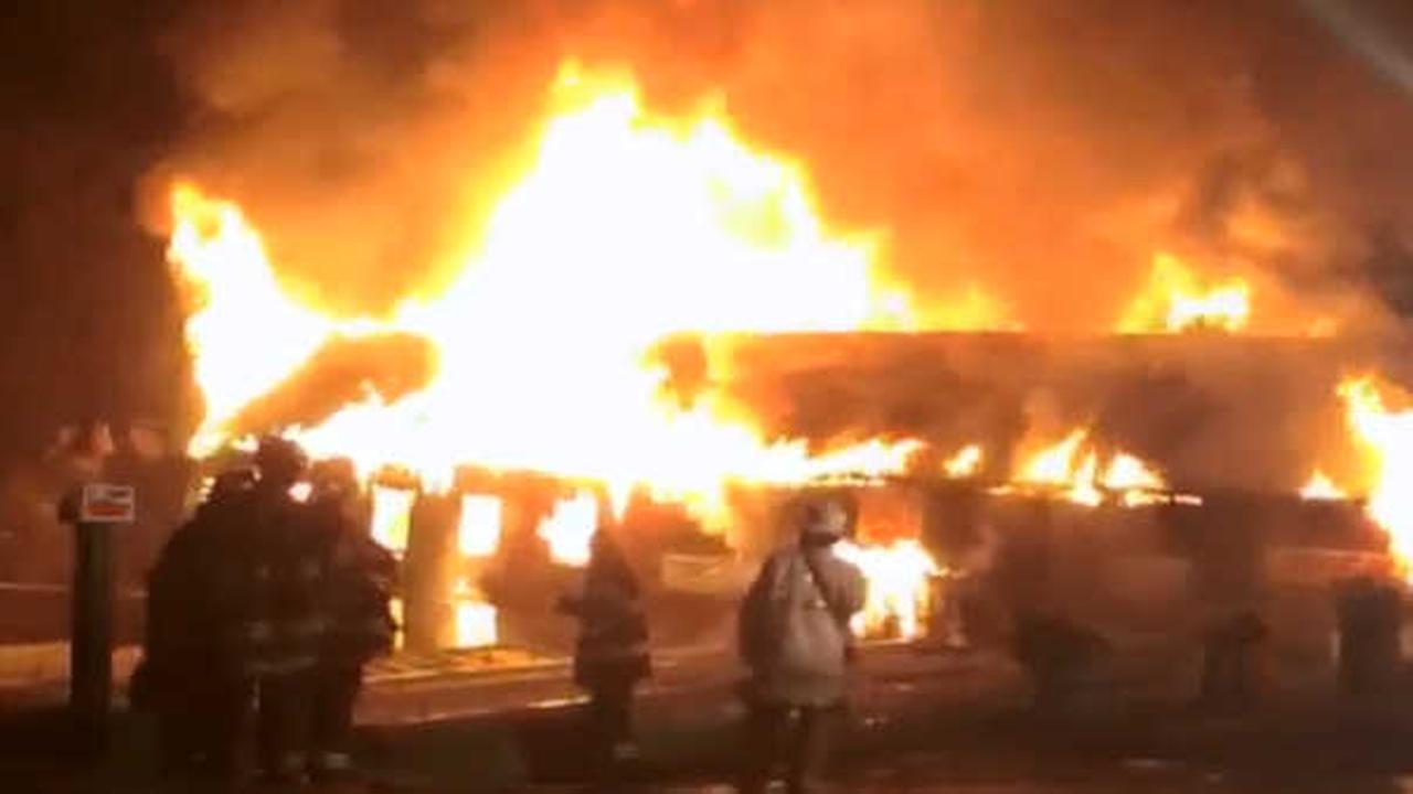 Investigation underway after fire destroys nursery in Greenville, Westchester County