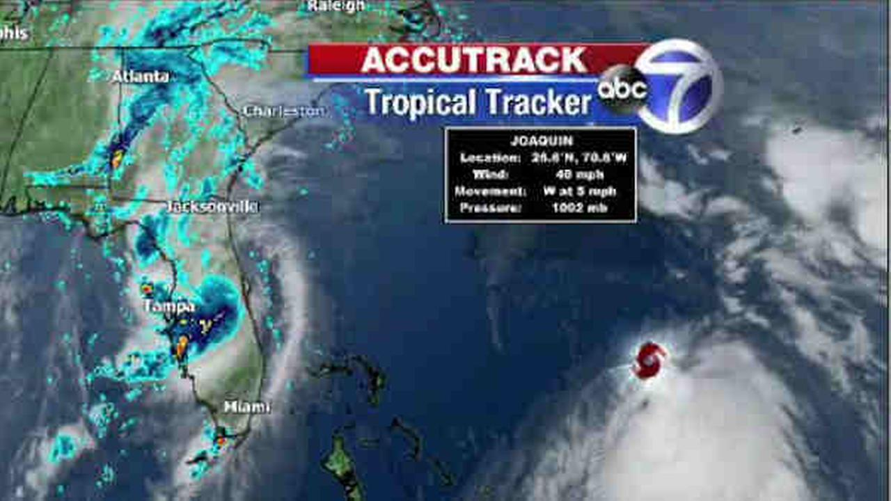 Tropical Storm Joaquin getting stronger in Atlantic