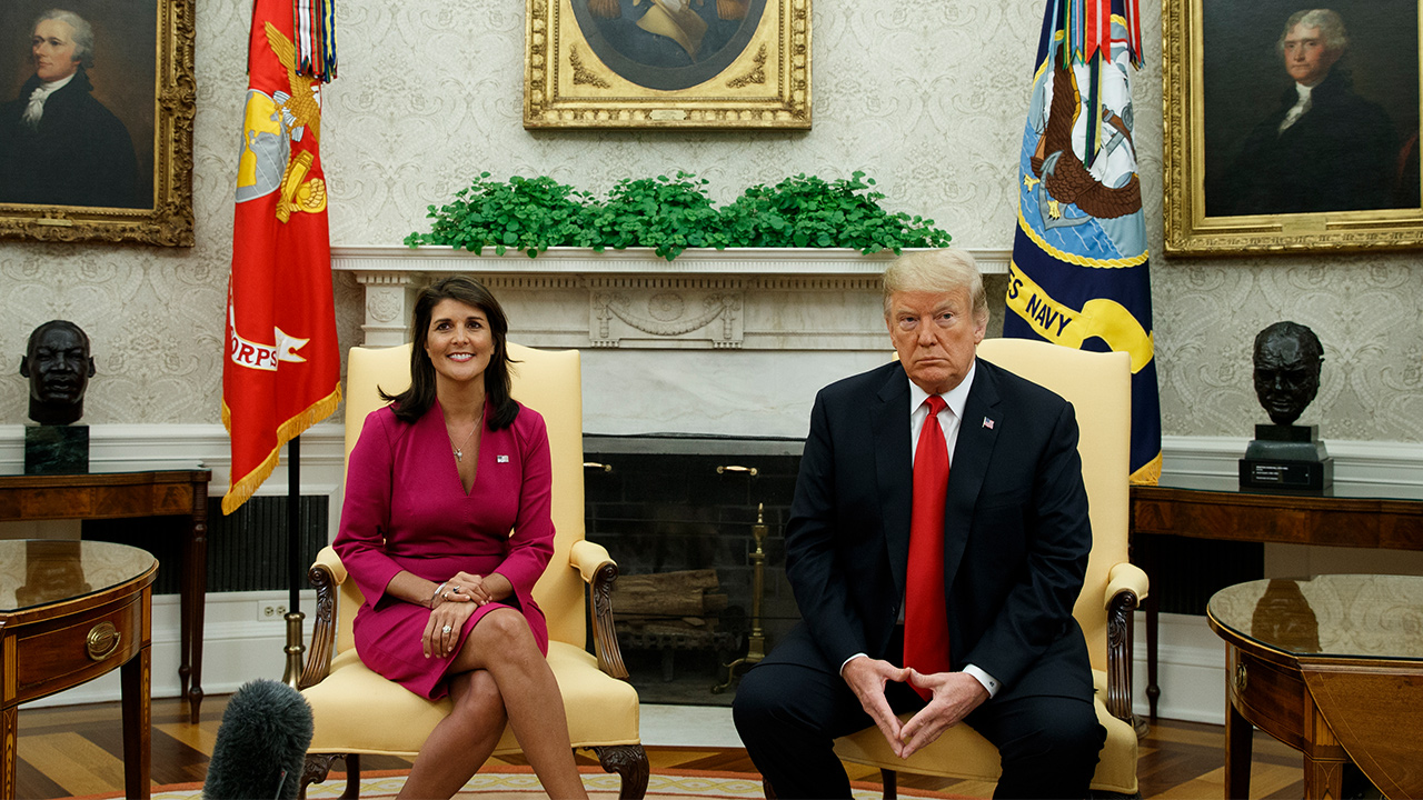 nikki haley resigns
