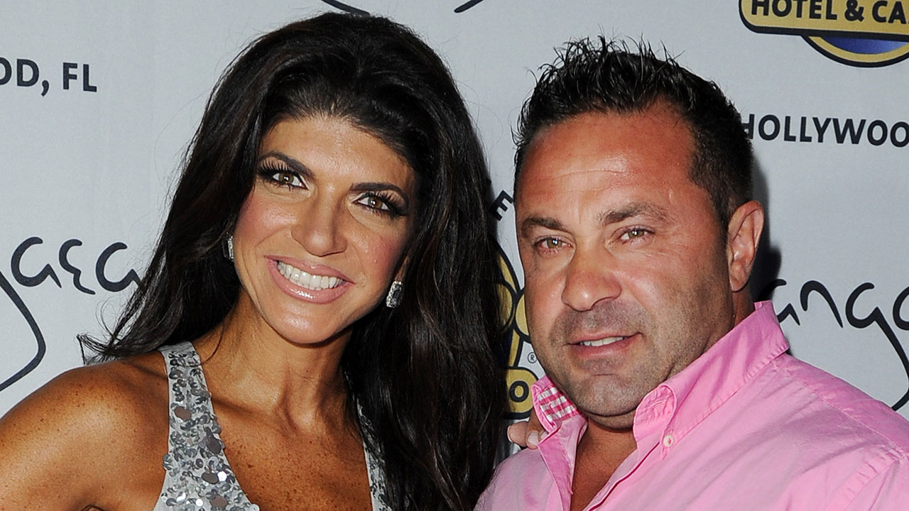 Teresa and Joe Giudice appear at Pangea Nightclub at the Seminole Hard Rock Hotel and Casino on Saturday, August 11, 2013 in Hollywood, Florida.