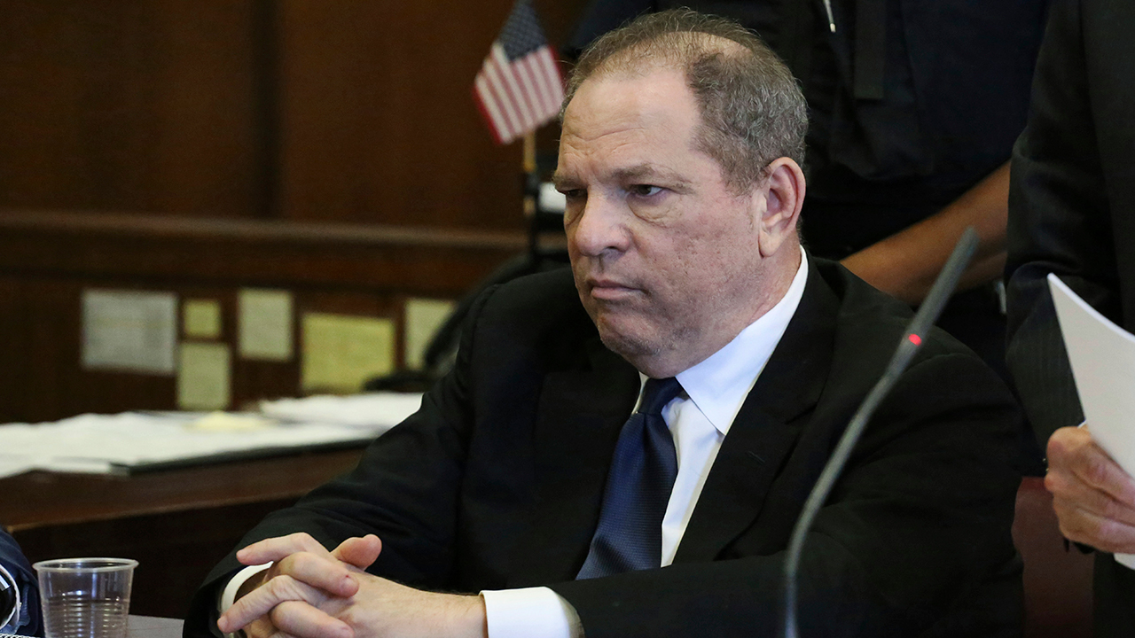 FILE - In this July 9, 2018, file photo, Harvey Weinstein attends his arraignment in court in New York.