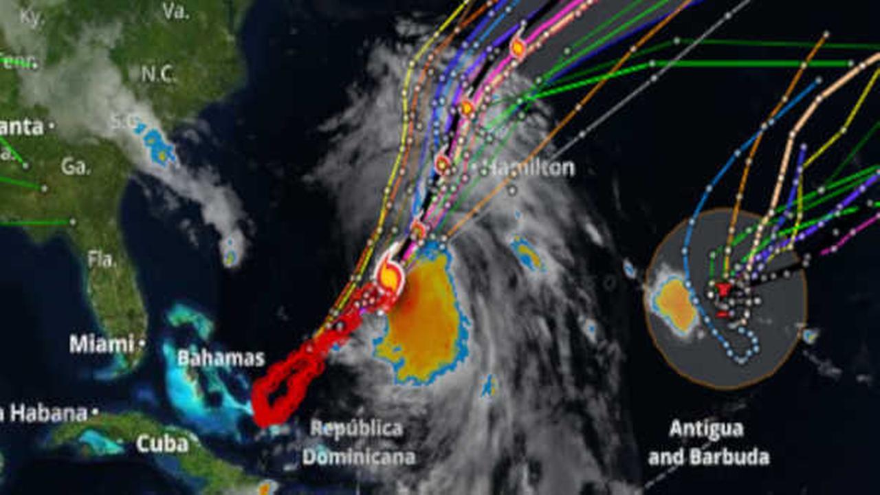 Weakening Hurricane Joaquin passes Bermuda after lashing it with rain