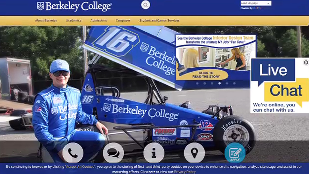 New York City sues for-profit Berkeley College over alleged deceptive practices