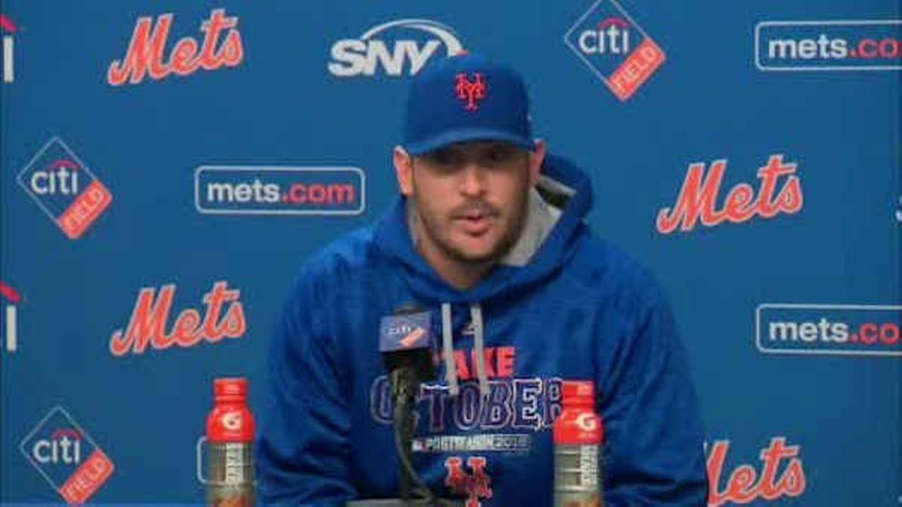 Mets pitcher Matt Harvey late for mandatory workout; says he was stuck in traffic