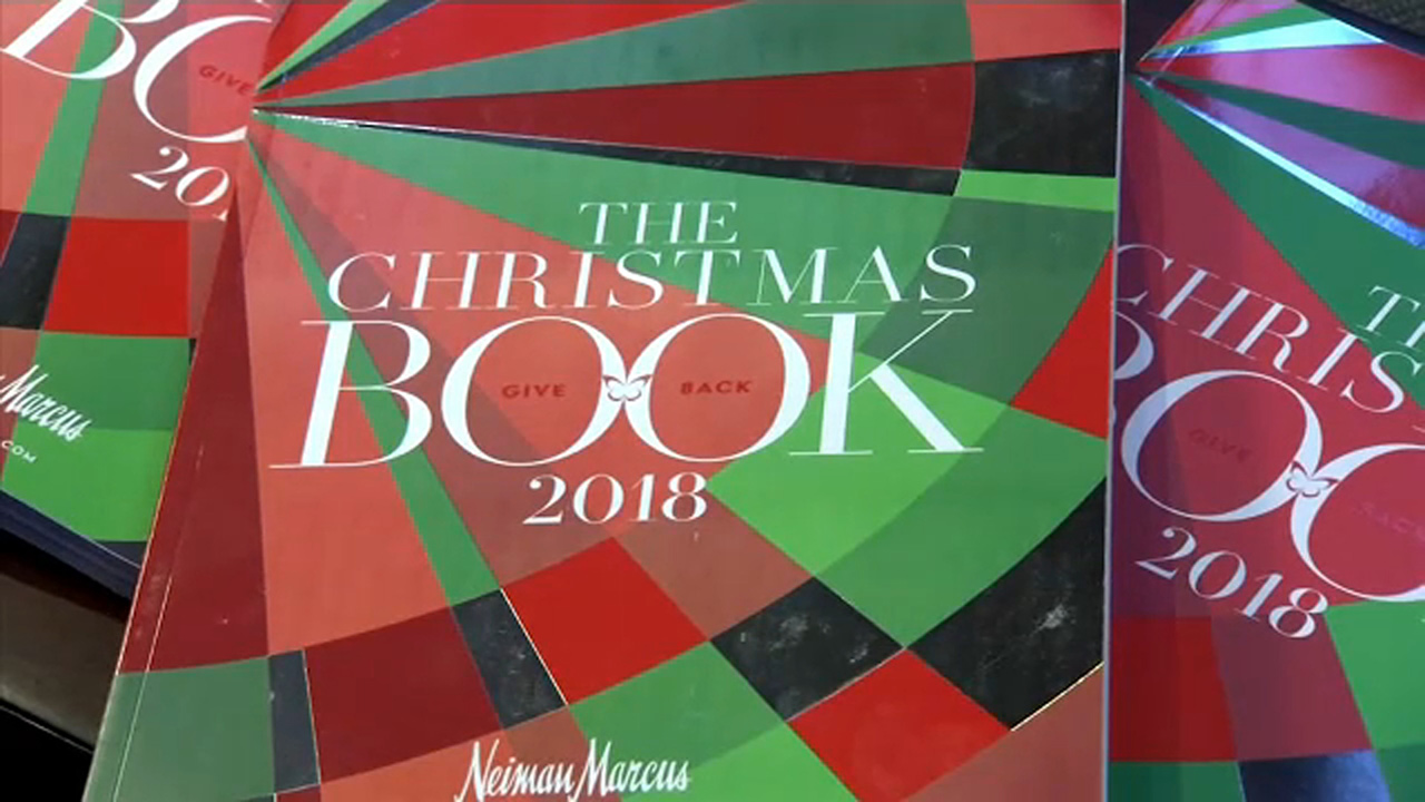 The company released their book of Christmas gift ideas with prices ranging from  $15 to $17 million!