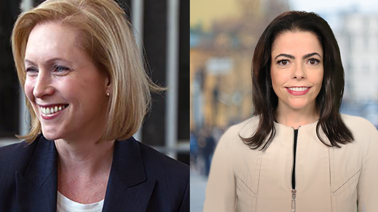 U.S. Senator Kirsten Gillibrand (D), U.S. Senate Candidate Chele Farley (R)