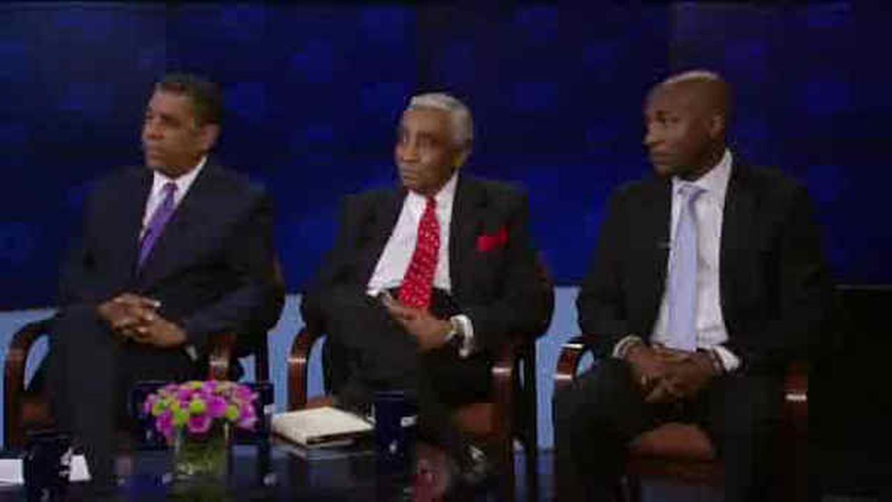 Rangel squares off against opponents in WABC-hosted debate