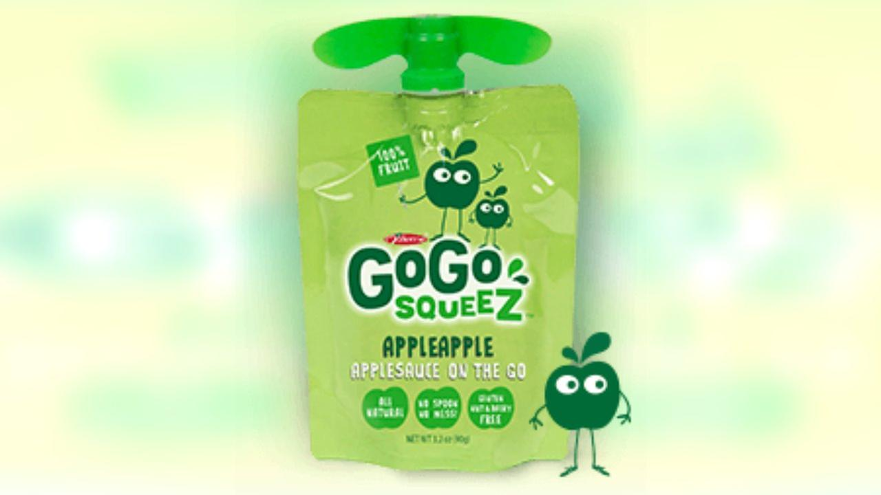GoGo recalls children's applesauce squeeZ pouches due to mold concerns