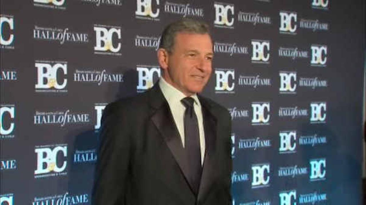 Disney CEO Bob Iger inducted into Broadcasting and Cable Hall of Fame