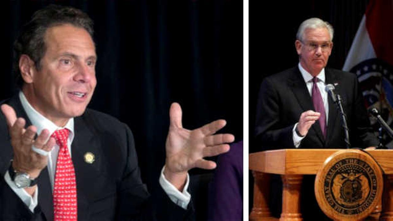 Governor Cuomo, Missouri governor make friendly World Series wager