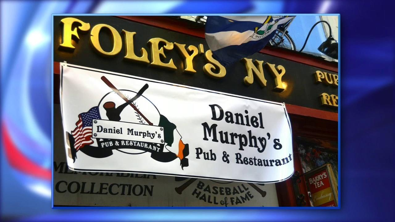 Foley's bar in Manhattan renames itself 'Daniel Murphy's Pub & Restaurant' in honor of Mets