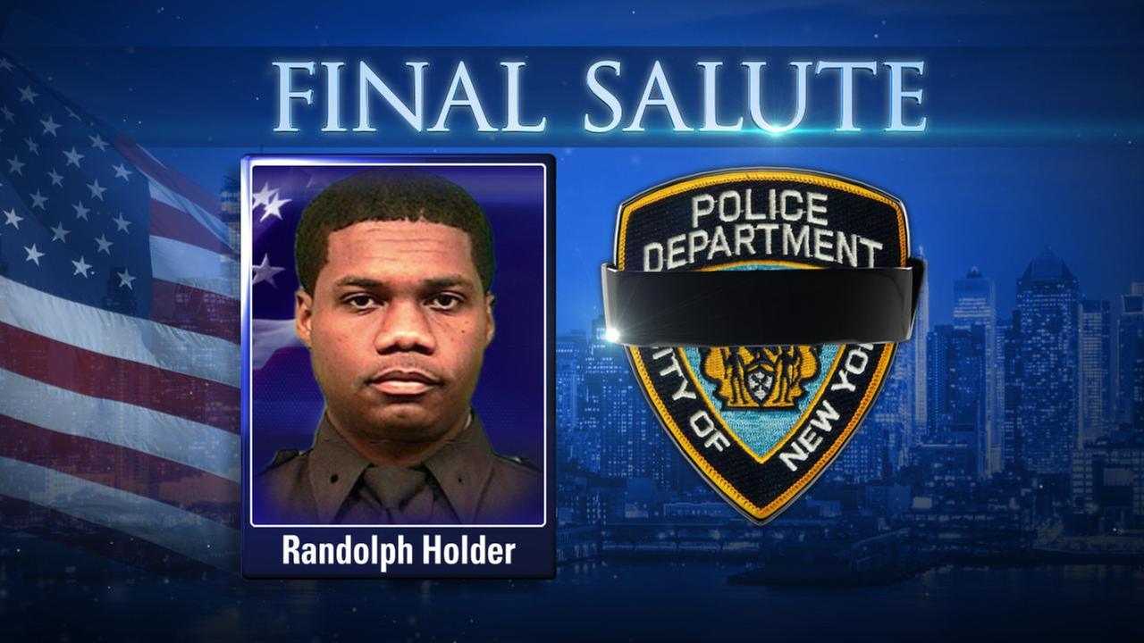 WATCH LIVE: Funeral services for NYPD Officer Randolph Holder