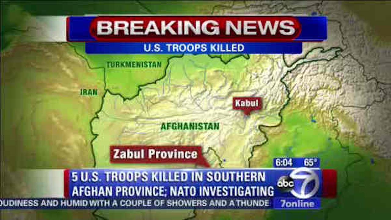nato troops killed