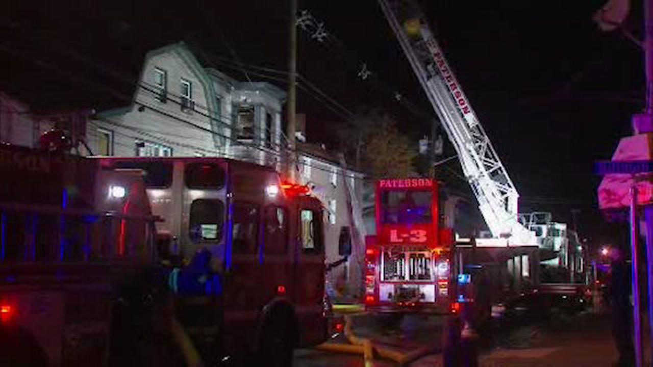 Three homes burned in Paterson fire