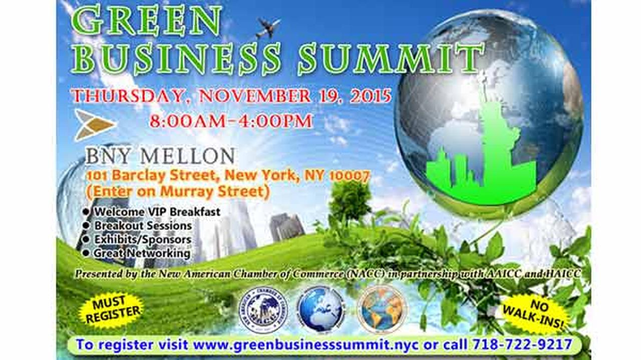 Green Business Summit in New York City