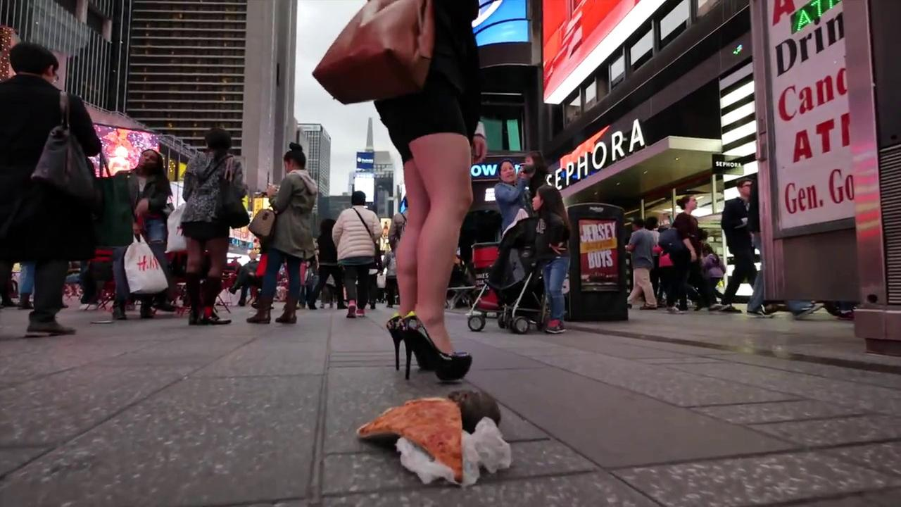 This remote-controlled pizza rat prank video shot in NYC will brighten your day