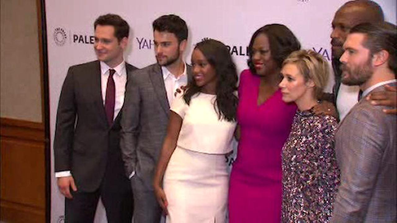 Cast of \'How to Get Away with Murder\' at Paley Center in New York ...