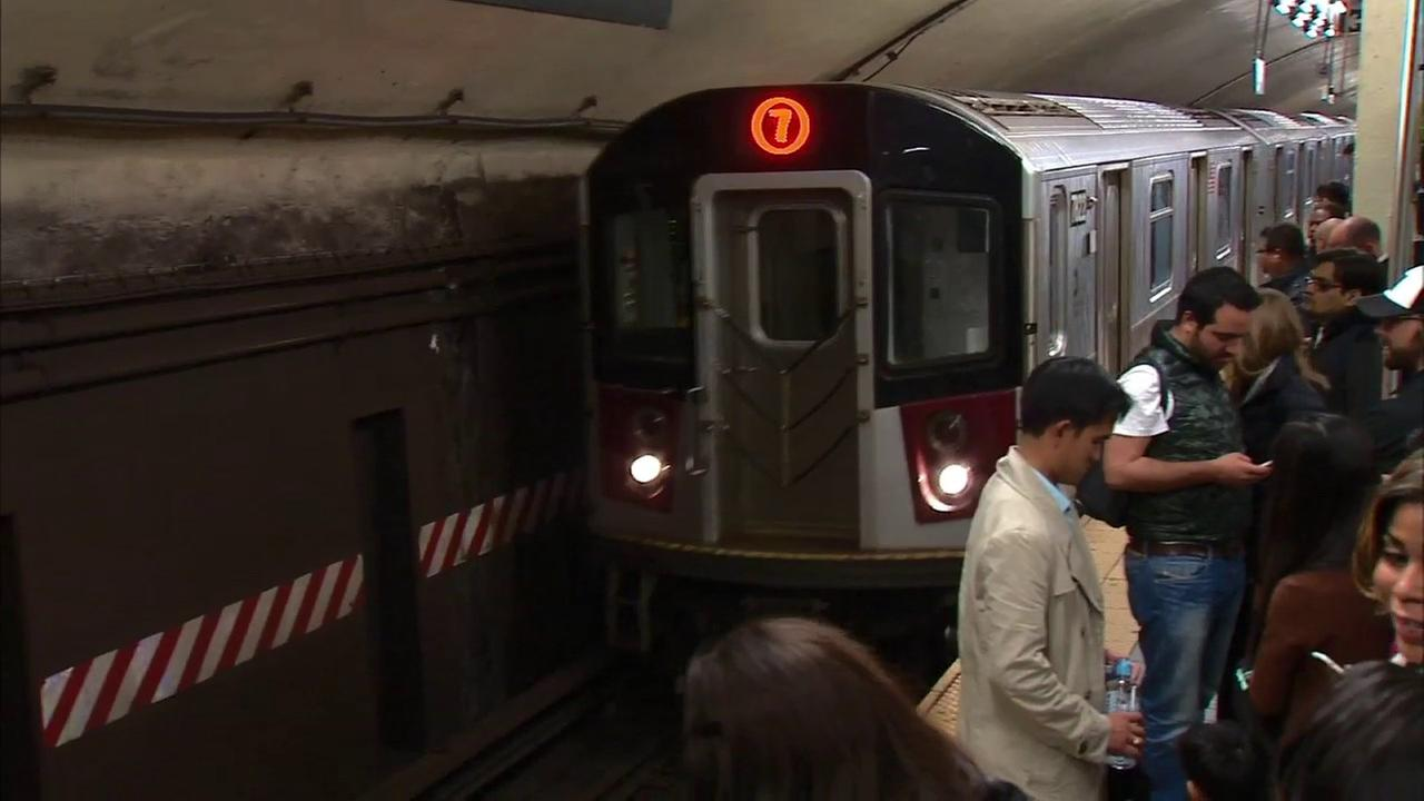 No 7 train service in or out of Manhattan this weekend