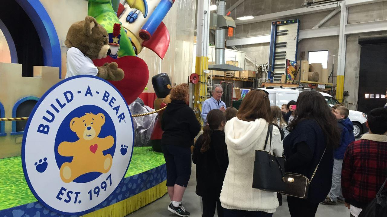 SNEAK PEEK: Macy's Thanksgiving Day Parade floats under construction
