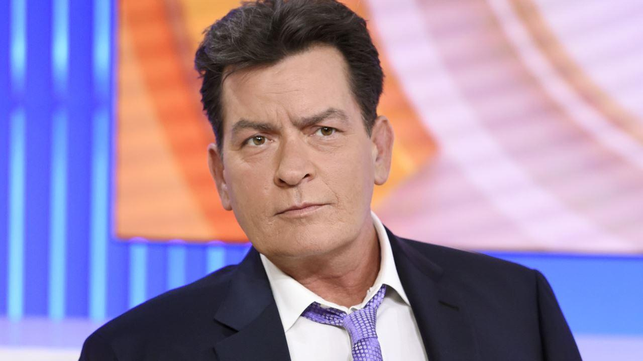 Actor Charlie Sheen appears during an interview, Tuesday, Nov. 17, 2015 on NBCs Today in New York.