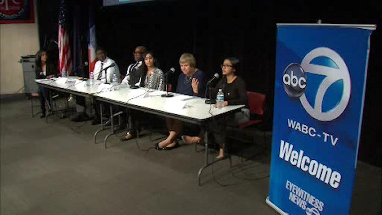 WABC-TV takes part in town hall meeting with city's youth