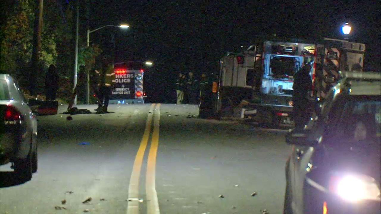 Teen allegedly involved in stolen van crash that killed woman in Yonkers dies