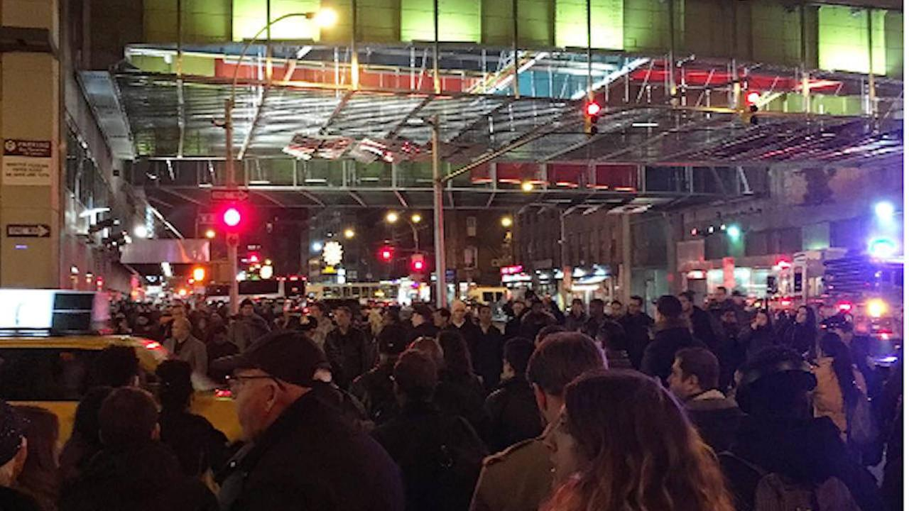 Police investigate suspicious package near Port Authority Bus Terminal, give all clear