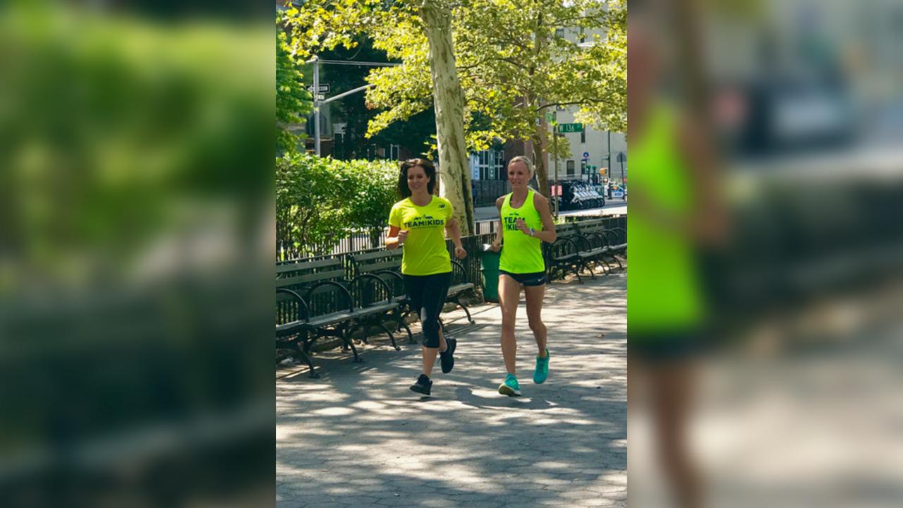 shalane flanagan amy freeze tcs nyc marathon